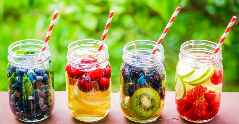 Healthy Top 12 Delicious Detox Water Recipes Images